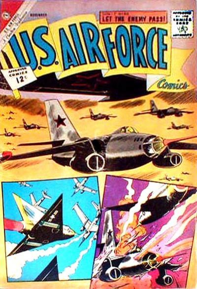 Cover for U.S. Air Force Comics (Charlton, 1958 series) #24