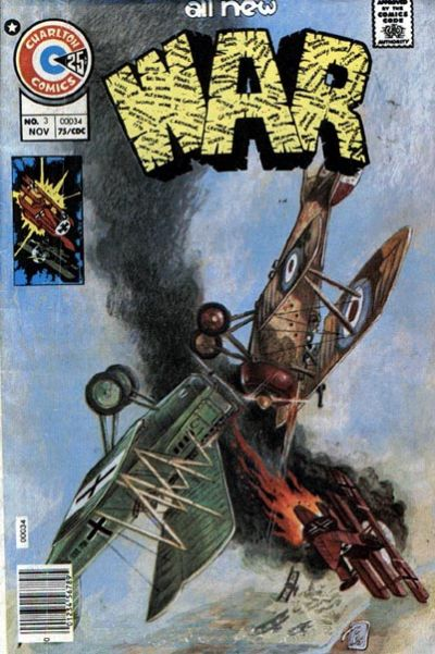 Cover for War (Charlton, 1975 series) #3