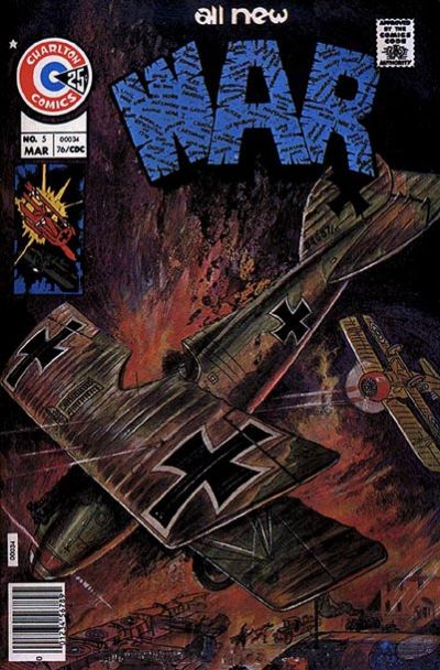 Cover for War (Charlton, 1975 series) #5