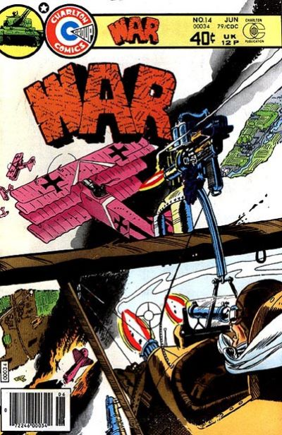 Cover for War (Charlton, 1975 series) #14
