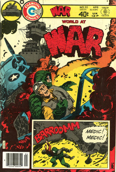 Cover for War (Charlton, 1975 series) #20