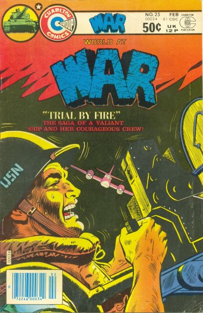 Cover for War (Charlton, 1975 series) #25