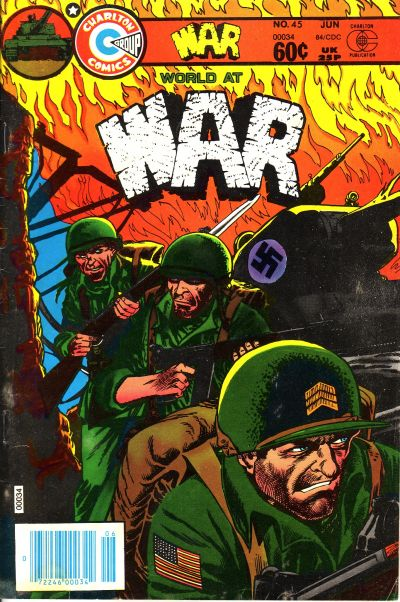Cover for War (Charlton, 1975 series) #45