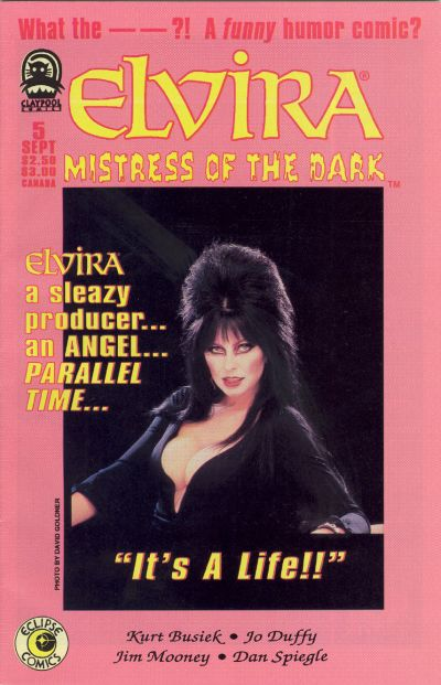 Cover for Elvira, Mistress of the Dark (Claypool Comics, 1993 series) #5