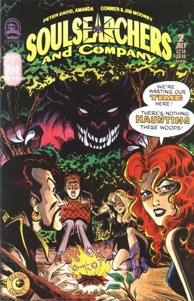 Cover for Soulsearchers and Company (Claypool Comics, 1993 series) #2