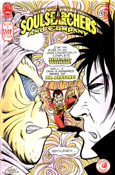 Cover for Soulsearchers and Company (Claypool Comics, 1993 series) #3