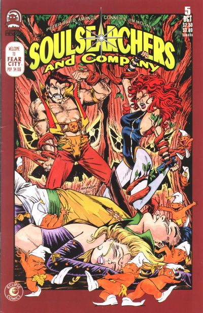 Cover for Soulsearchers and Company (Claypool Comics, 1993 series) #5