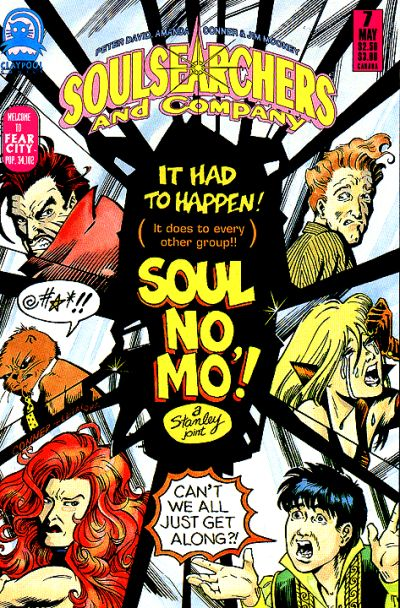 Cover for Soulsearchers and Company (Claypool Comics, 1993 series) #7