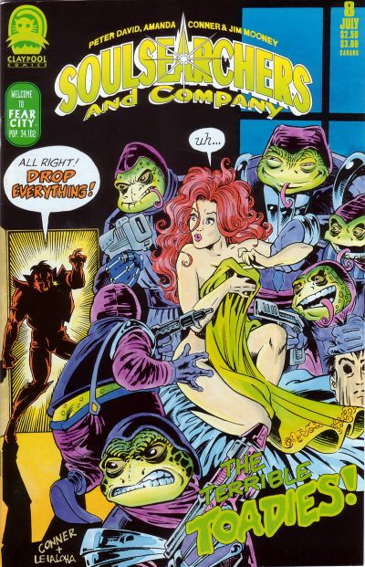 Cover for Soulsearchers and Company (Claypool Comics, 1993 series) #8