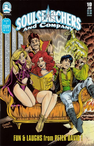 Cover for Soulsearchers and Company (Claypool Comics, 1993 series) #10