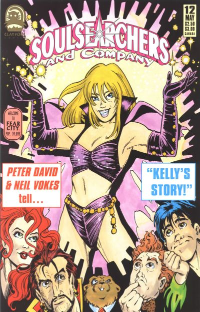 Cover for Soulsearchers and Company (Claypool Comics, 1993 series) #12