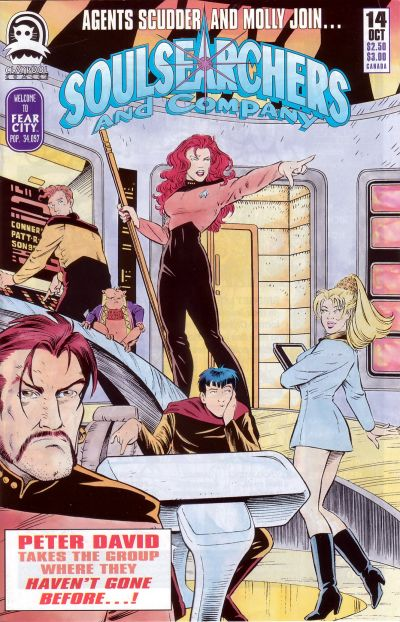 Cover for Soulsearchers and Company (Claypool Comics, 1993 series) #14