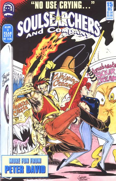 Cover for Soulsearchers and Company (Claypool Comics, 1993 series) #15