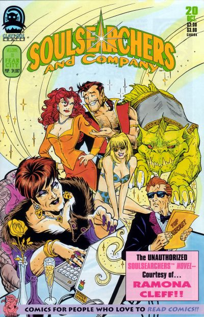 Cover for Soulsearchers and Company (Claypool Comics, 1993 series) #20