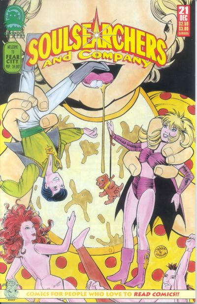 Cover for Soulsearchers and Company (Claypool Comics, 1993 series) #21
