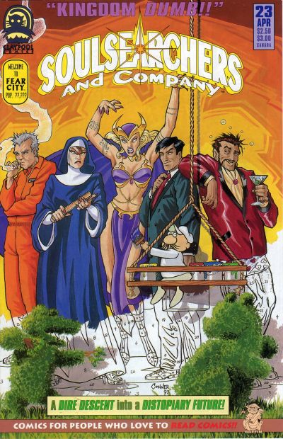 Cover for Soulsearchers and Company (Claypool Comics, 1993 series) #23