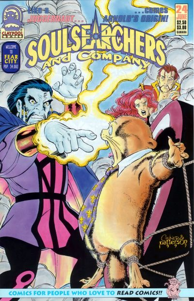 Cover for Soulsearchers and Company (Claypool Comics, 1993 series) #24