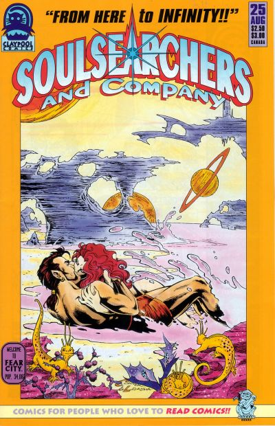 Cover for Soulsearchers and Company (Claypool Comics, 1993 series) #25