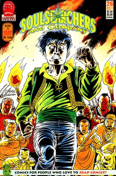 Cover for Soulsearchers and Company (Claypool Comics, 1993 series) #26