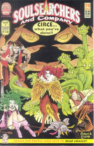 Cover for Soulsearchers and Company (Claypool Comics, 1993 series) #29