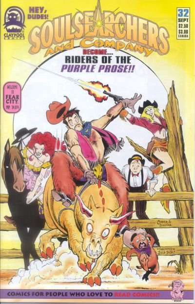 Cover for Soulsearchers and Company (Claypool Comics, 1993 series) #32