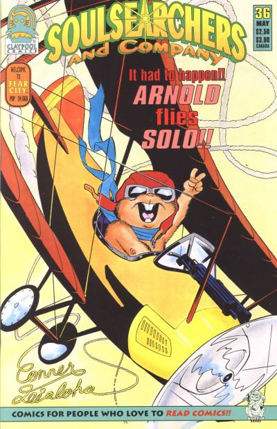Cover for Soulsearchers and Company (Claypool Comics, 1993 series) #36