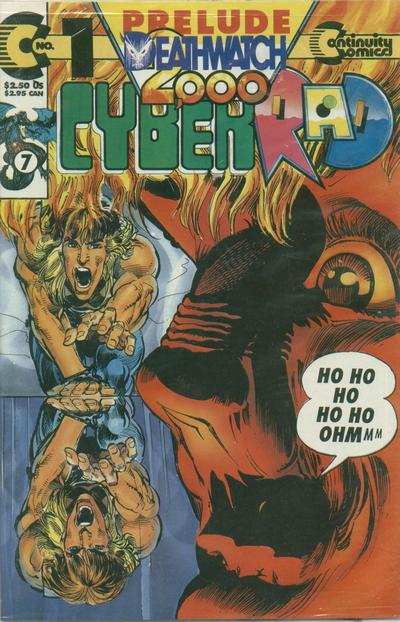 Cover for CyberRad Deathwatch 2000 (Continuity, 1993 series) #1