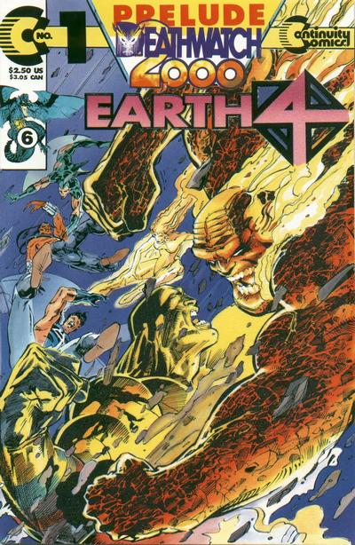 Cover for Earth 4 Deathwatch 2000 (Continuity, 1993 series) #1
