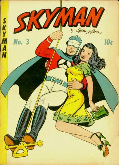 Cover for Skyman (Columbia, 1941 series) #3