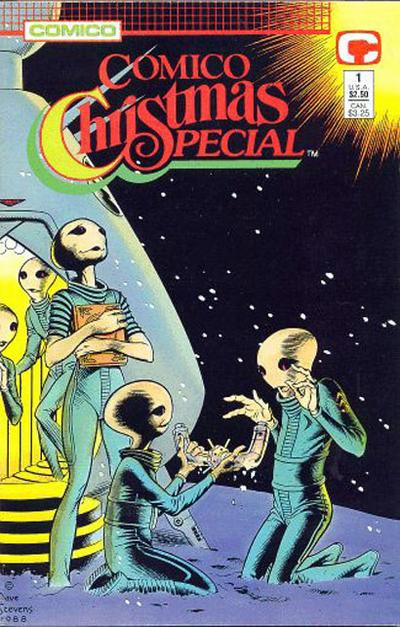 Cover for Comico Christmas Special (Comico, 1988 series) #1