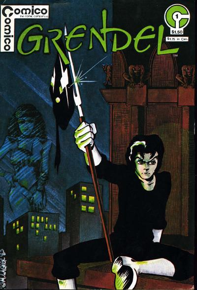 Cover for Grendel (Comico, 1983 series) #1