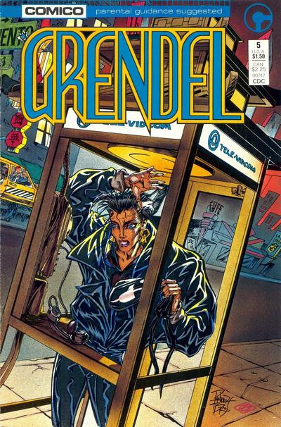 Cover for Grendel (Comico, 1986 series) #5 [Direct]
