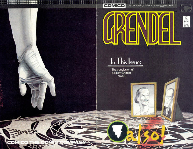 Cover for Grendel (Comico, 1986 series) #17