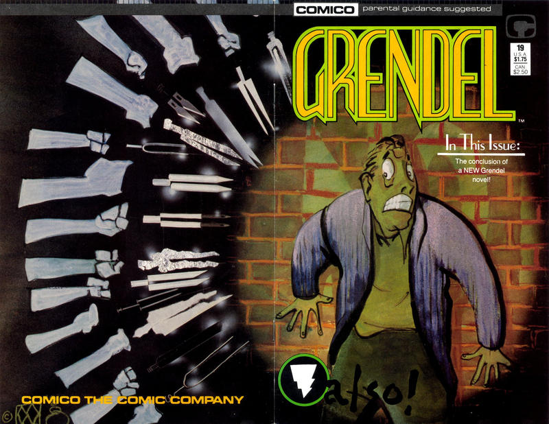 Cover for Grendel (Comico, 1986 series) #19