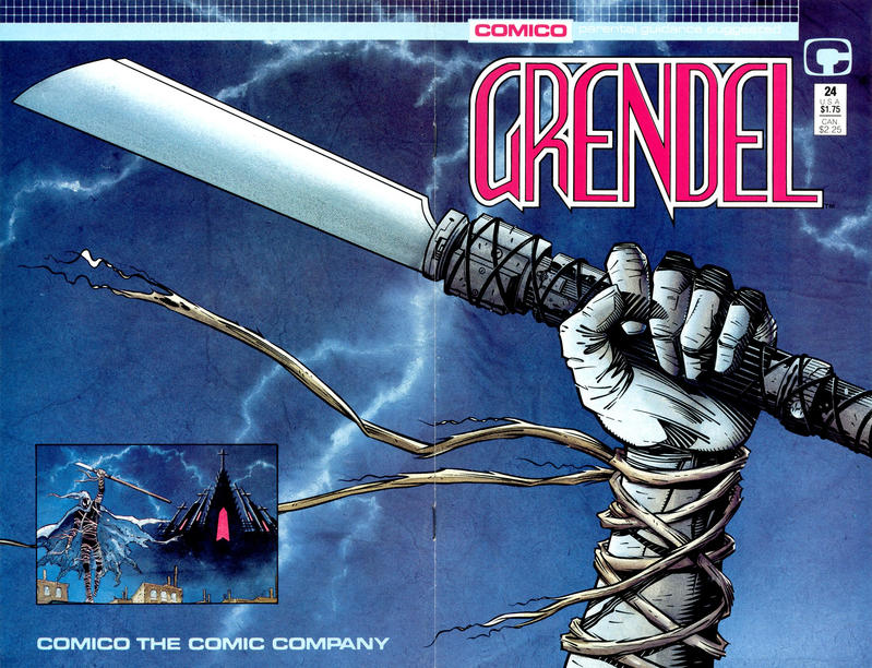 Cover for Grendel (Comico, 1986 series) #24