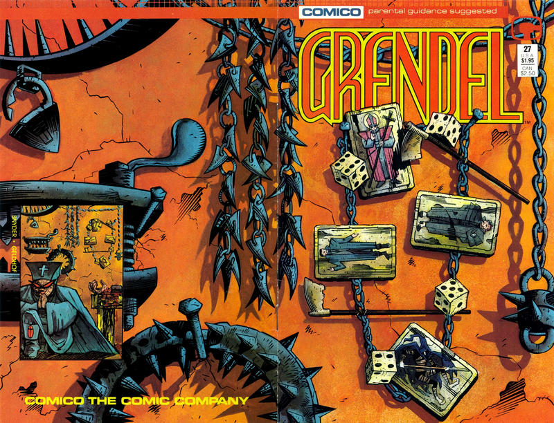 Cover for Grendel (Comico, 1986 series) #27