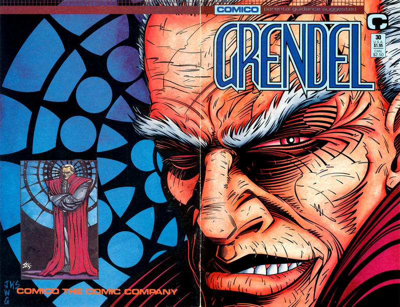Cover for Grendel (Comico, 1986 series) #30