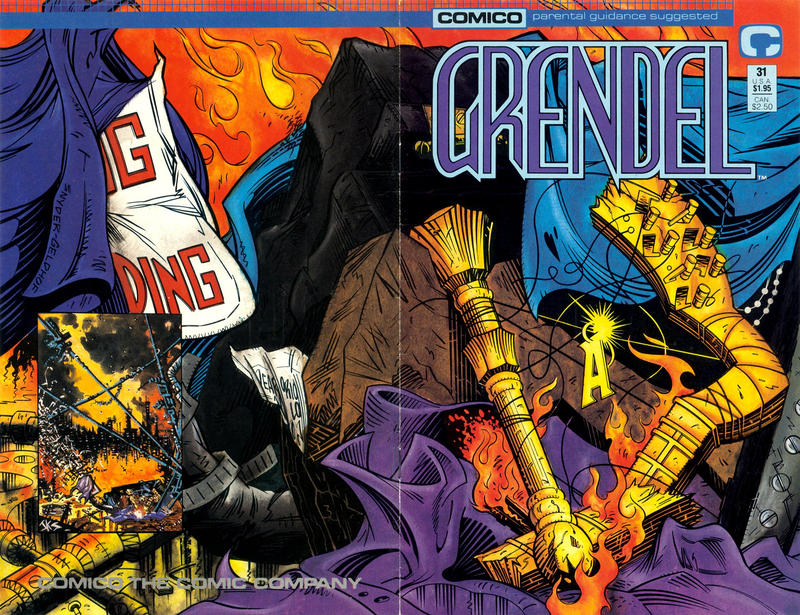 Cover for Grendel (Comico, 1986 series) #31