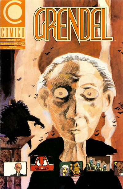 Cover for Grendel (Comico, 1986 series) #37