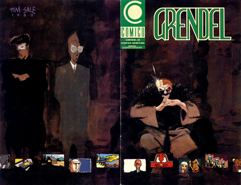 Cover for Grendel (Comico, 1986 series) #38