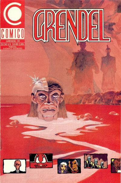 Cover for Grendel (Comico, 1986 series) #39