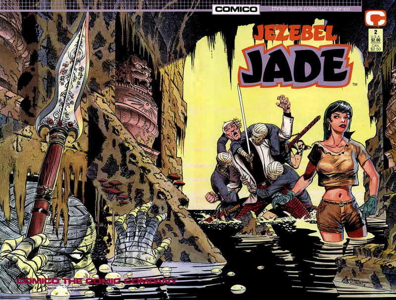 Cover for Jezebel Jade (Comico, 1988 series) #2