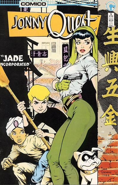 Cover for Jonny Quest (Comico, 1986 series) #5