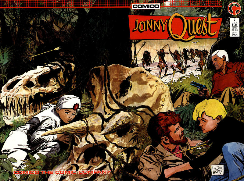 Cover for Jonny Quest (Comico, 1986 series) #7