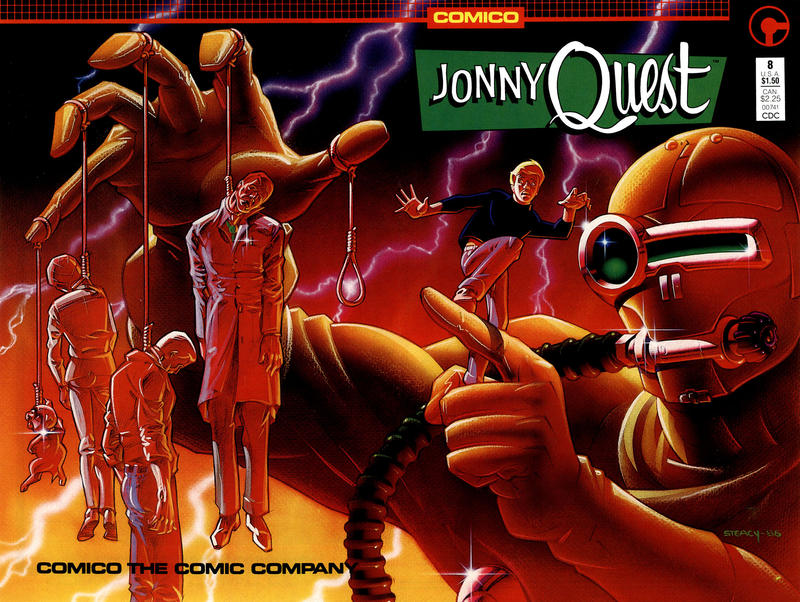 Cover for Jonny Quest (Comico, 1986 series) #8