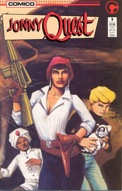 Cover for Jonny Quest (Comico, 1986 series) #9