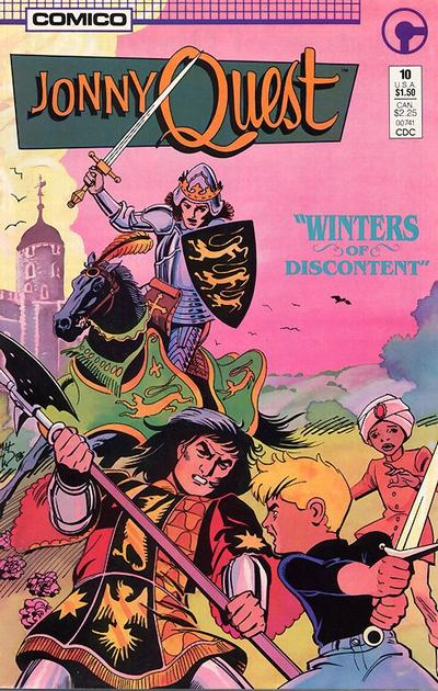 Cover for Jonny Quest (Comico, 1986 series) #10