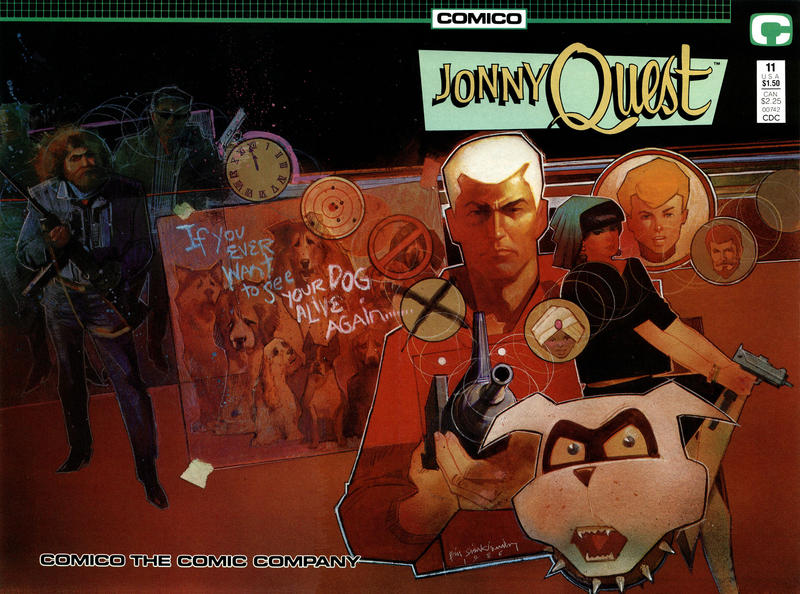 Cover for Jonny Quest (Comico, 1986 series) #11