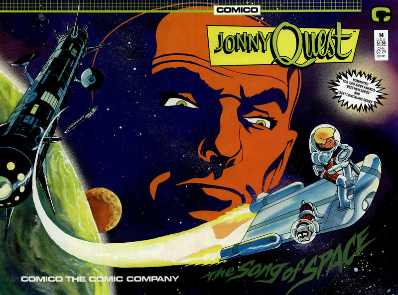 Cover for Jonny Quest (Comico, 1986 series) #14