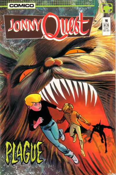 Cover for Jonny Quest (Comico, 1986 series) #16